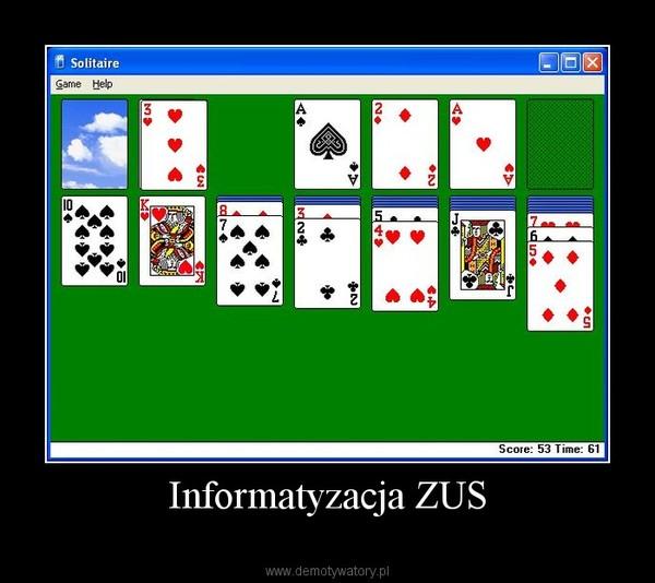 Informatyzacja ZUS –