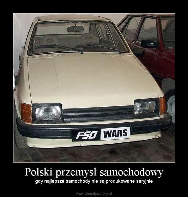 Polski przemysł samochodowy – gdy najlepsze samochody nie są produkowane seryjnie