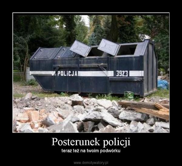 Posterunek policji – teraz też na twoim podwórku