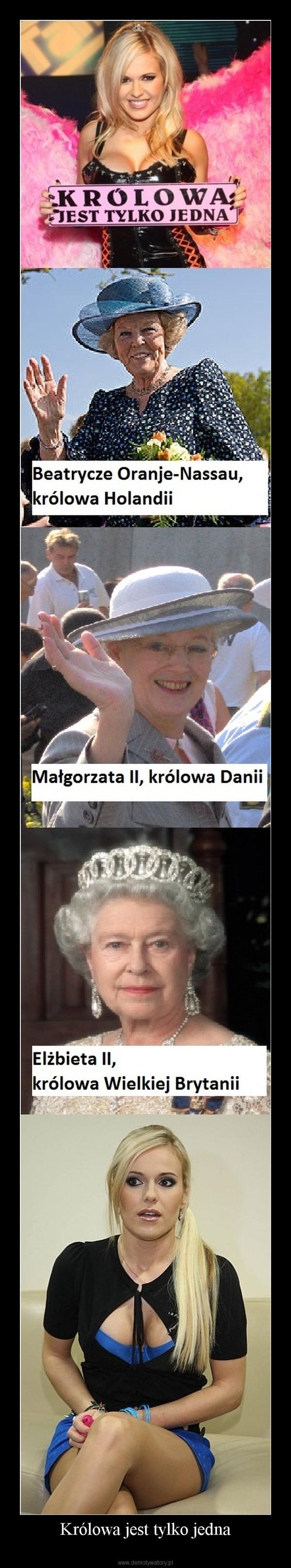 Królowa jest tylko jedna –