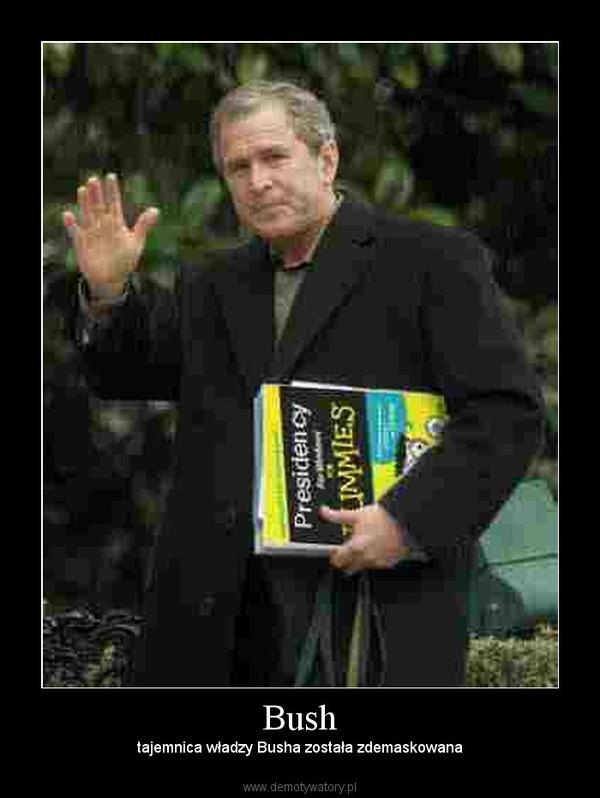 Bush –  tajemnica władzy Busha została zdemaskowana