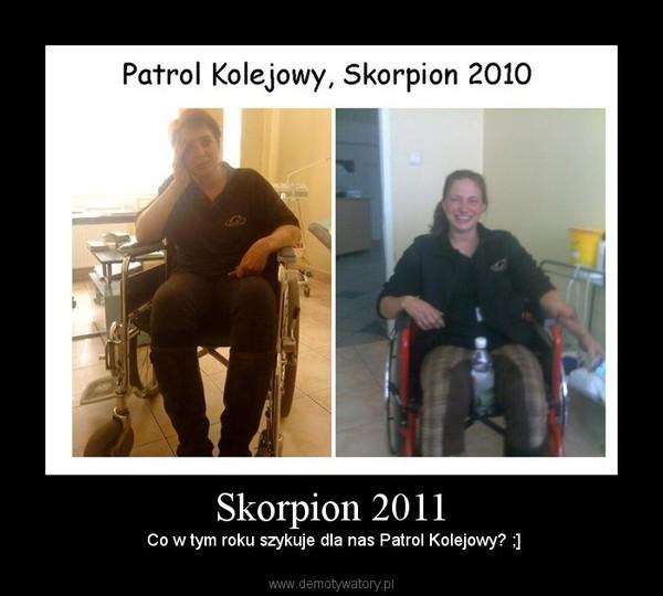 Skorpion 2011 – Co w tym roku szykuje dla nas Patrol Kolejowy? ;]