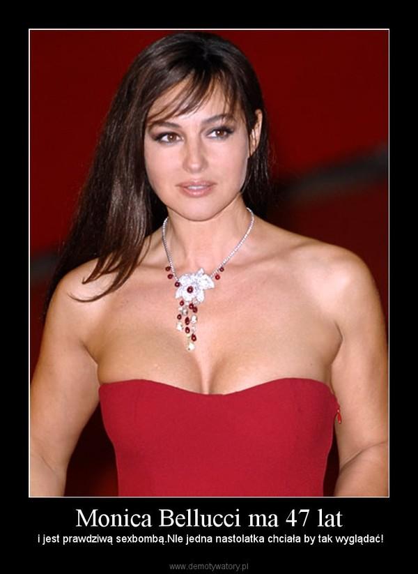 Monica Bellucci ma 47 lat – i jest prawdziwą sexbombą.NIe jedna nastolatka chciała by tak wyglądać!