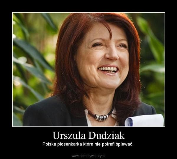 Urszula Dudziak – Polska piosenkarka która nie potrafi śpiewać.