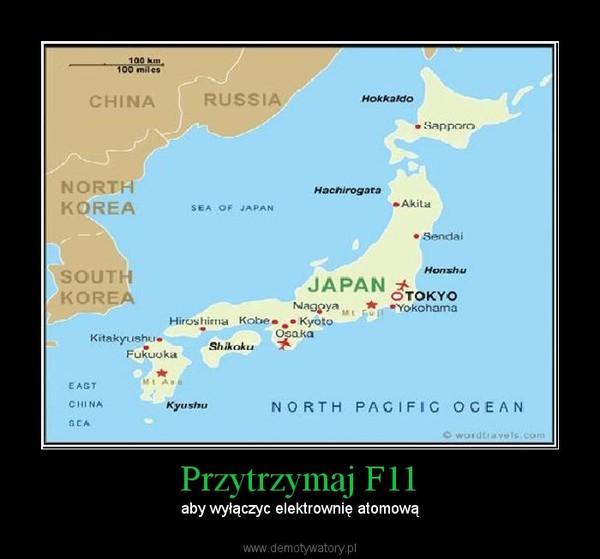 Przytrzymaj F11 – aby wyłączyc elektrownię atomową