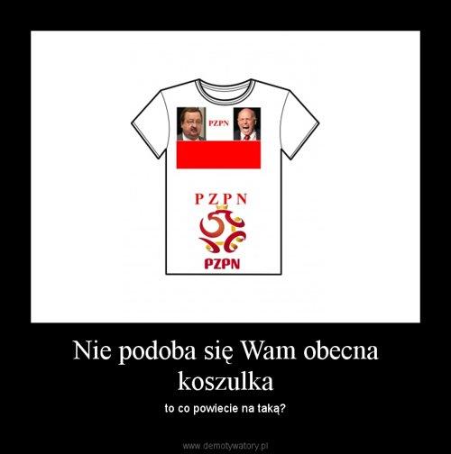 Nie podoba się Wam obecna koszulka