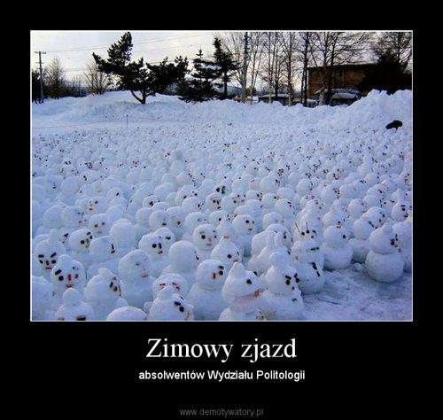 Zimowy zjazd
