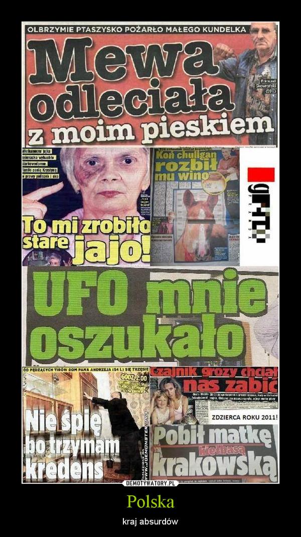 Polska – kraj absurdów