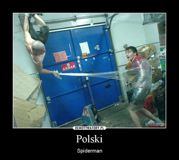 Polski – Spiderman
