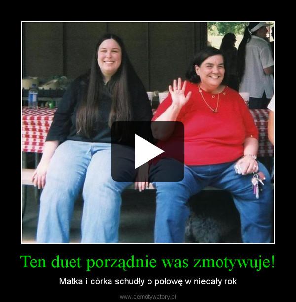 Ten duet porządnie was zmotywuje! – Matka i córka schudły o połowę w niecały rok