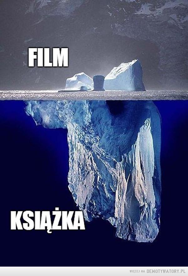 Różnica między filmem, a książką –