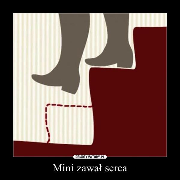 Mini zawał serca –