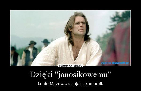 """Dzięki """"janosikowemu"""" – konto Mazowsza zajął... komornik"""