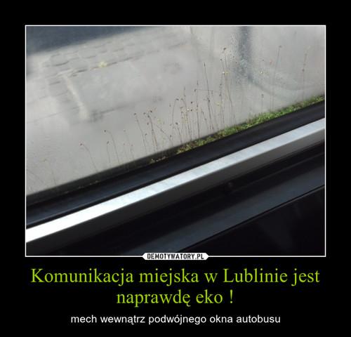 Komunikacja miejska w Lublinie jest naprawdę eko !