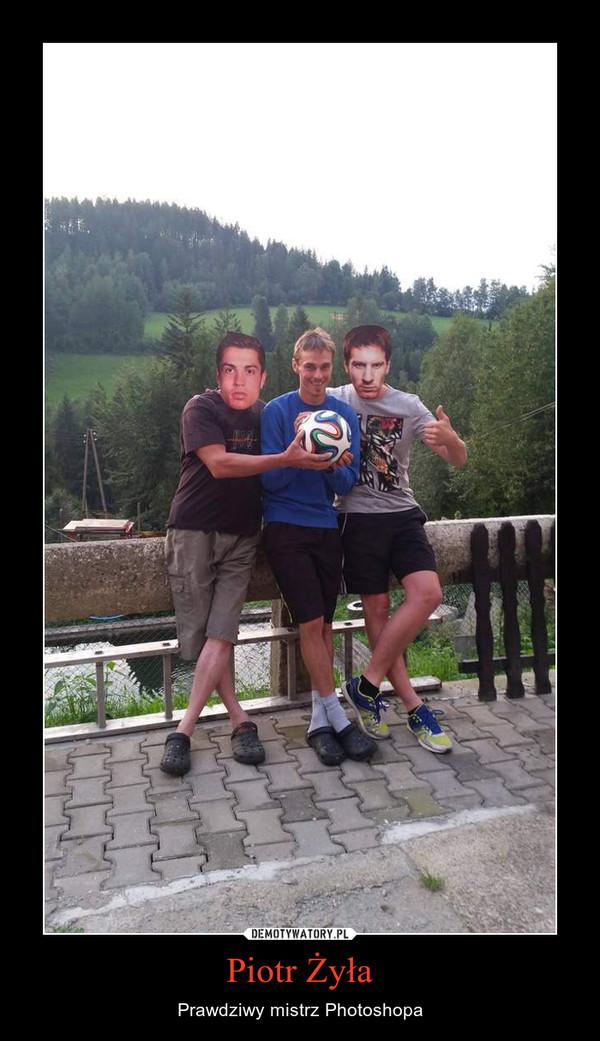 Piotr Żyła – Prawdziwy mistrz Photoshopa