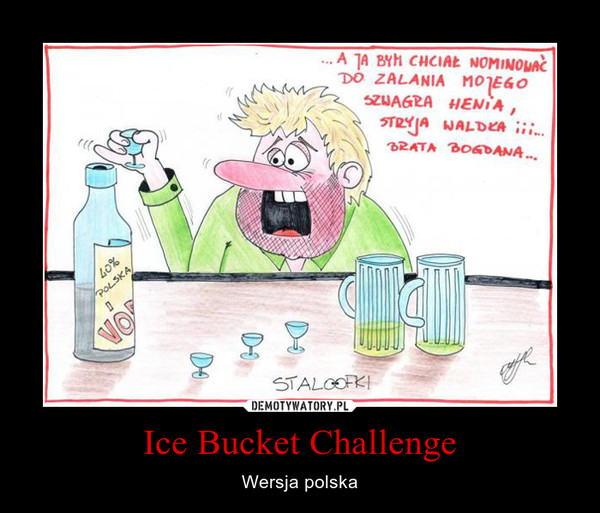 Ice Bucket Challenge – Wersja polska