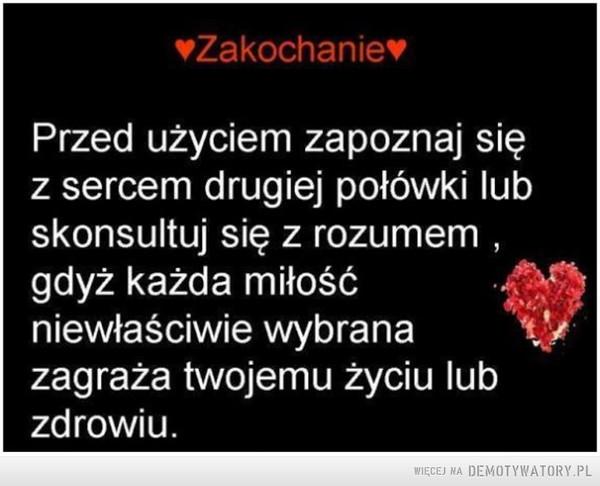 Zakochanie –