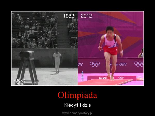 Olimpiada – Kiedyś i dziś