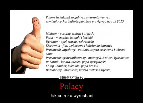 Polacy – Jak co roku wyruchani