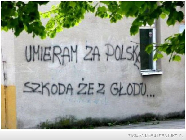 Umieram za Polskę –