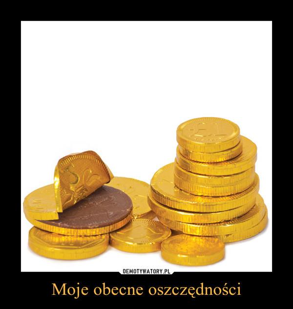 Moje obecne oszczędności –