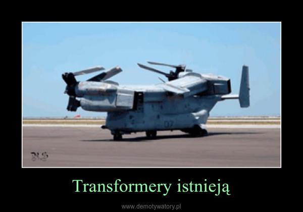 Transformery istnieją –