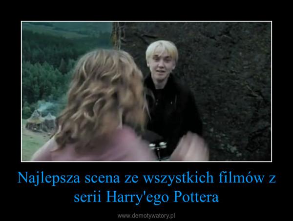 Najlepsza scena ze wszystkich filmów z serii Harry'ego Pottera –
