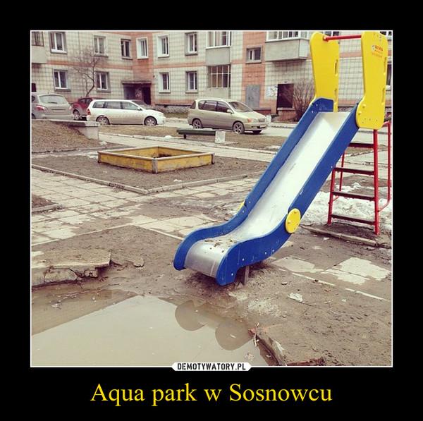 Aqua park w Sosnowcu –