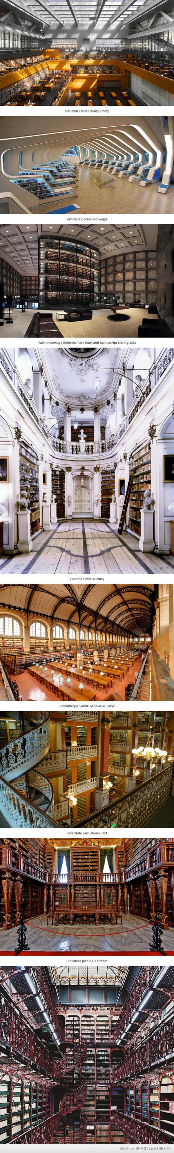Nie wszystkie  biblioteki muszą nudzić, bo są.... –