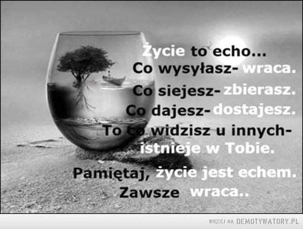 Życie... –
