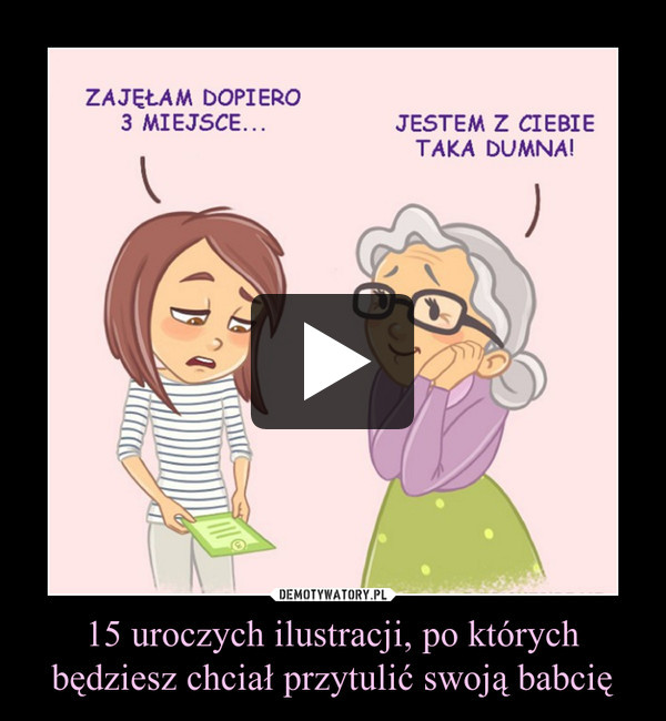 15 uroczych ilustracji, po których będziesz chciał przytulić swoją babcię –