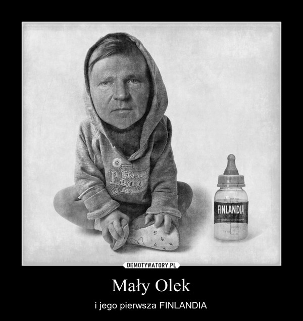 Mały Olek – i jego pierwsza FINLANDIA