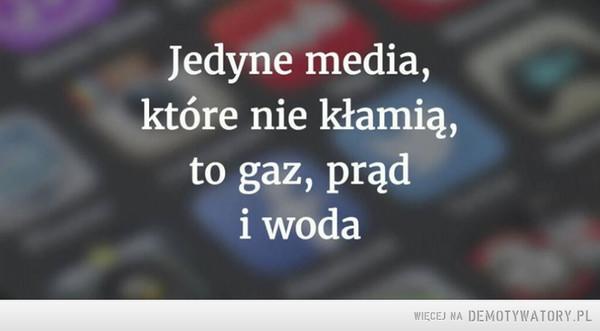 Dzisiejsze media –