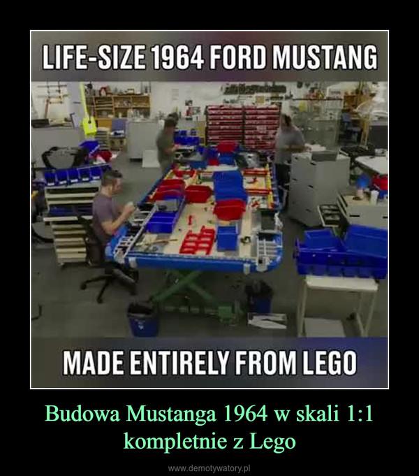 Budowa Mustanga 1964 w skali 1:1 kompletnie z Lego –
