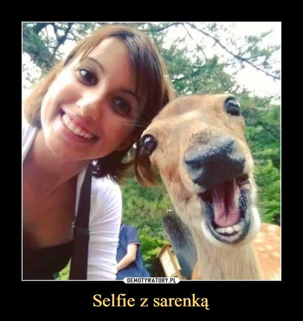 Selfie z sarenką –