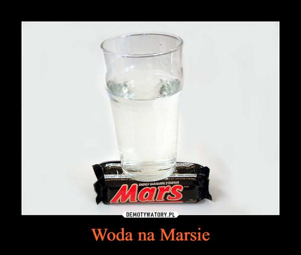 Woda na Marsie –