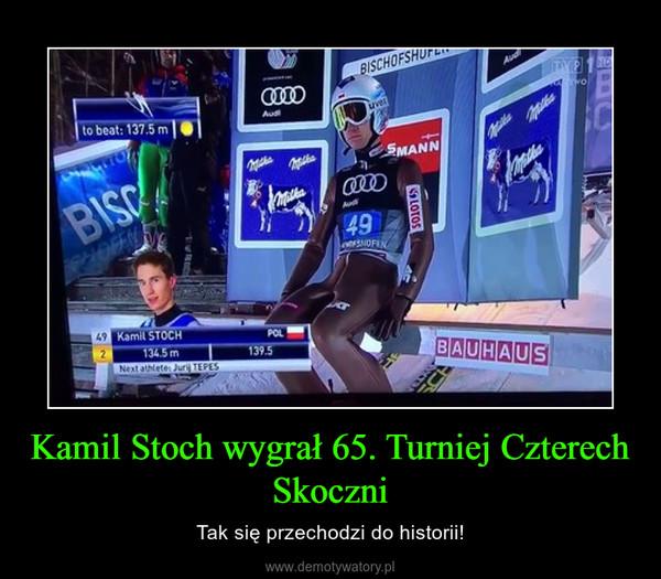 Kamil Stoch wygrał 65. Turniej Czterech Skoczni – Tak się przechodzi do historii!