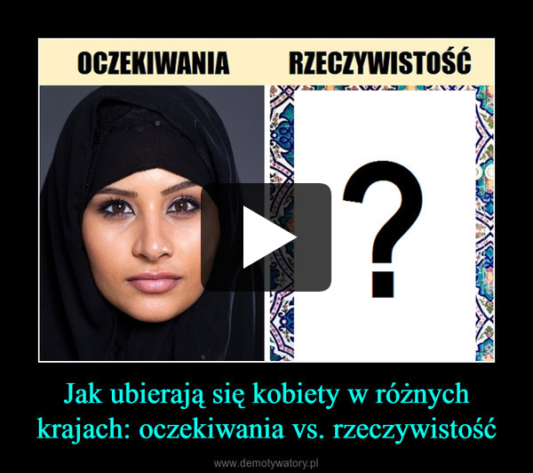Jak ubierają się kobiety w różnych krajach: oczekiwania vs. rzeczywistość –