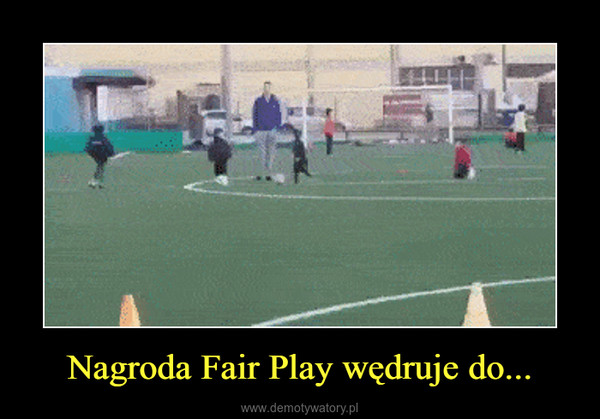 Nagroda Fair Play wędruje do... –