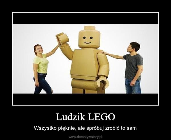 Ludzik LEGO – Wszystko pięknie, ale spróbuj zrobić to sam