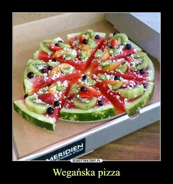 Wegańska pizza –