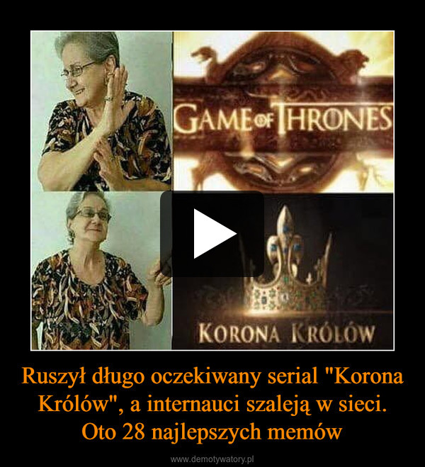 """Ruszył długo oczekiwany serial """"Korona Królów"""", a internauci szaleją w sieci. Oto 28 najlepszych memów –"""