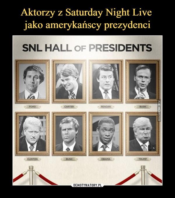 –  SNL HALL OF PRESIDENTS