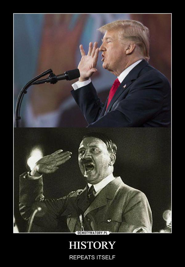 HISTORY – REPEATS ITSELF