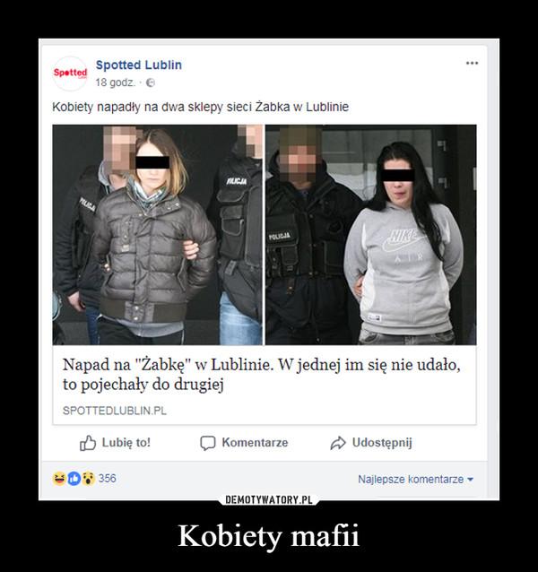 Kobiety mafii –