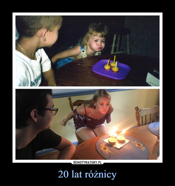 20 lat różnicy –