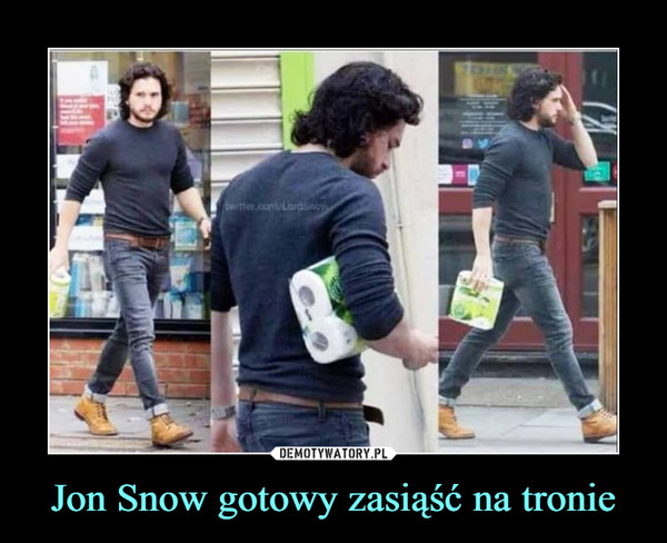 Jon Snow gotowy zasiąść na tronie –