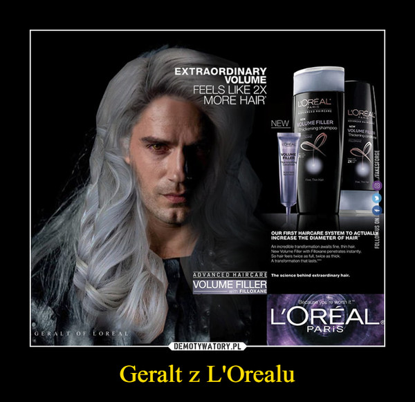 Geralt z L'Orealu –