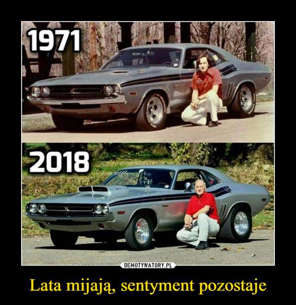 Lata mijają, sentyment pozostaje –  19712018