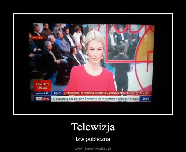 Telewizja – tzw publiczna